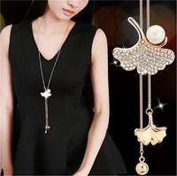 Cheap Fashion Silver Gold Chain Crystal Zircon Maxi Necklace...