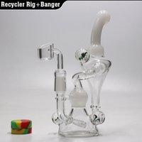 Nouveau verre bong trois couleurs bonne qualité tuyau d'eau plate-forme d'huile avec quartz banger ongle 14.5mm joint