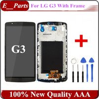 1Pcs pour LG G3 D850 D851 D855 VS985 LS990 écran LCD Touch digitizer écran assemblage (100% qualité AAA d'origine) avec des outils