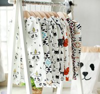 INS Pants Boys Girls Cotton Harem Pants Cartoon Pands Teepee...