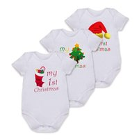 Baby Girls Boys Christmas Rompers 2017 Hot Festival Newbown ...