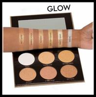 GLOW Maquillage Visage AUTHENTIC Highlighting Powder Makeup Kit DHL Livraison gratuite + CADEAU