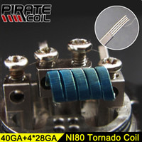 Newest Pirate Tornado Heating Coils Resistance Wire For Rda ...