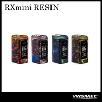 Authentique Woinec Reuleaux RXmini RESIN Mod avec 80W Max Sortie Firmware Upgradeable Protection Double Circuit 100% Original