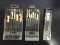 2017 Kylie Makeup Brush Rose Gold Cosmetic Foundation BB Cre...