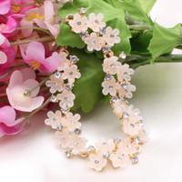 Trendy Charm Diamond Bracelet Rose Gold Plated Bangle Colorf...