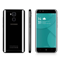 4GB 64GB Doogee Y6 Piano Black Touch ID 4G LTE 64-Bit окта Ядро MTK6750 Android 6.0 5.5inch HD 720P 13.0MP камера быстрой зарядки GPS смартфон