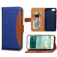Бумажник флип случае PU кожаный чехол ТПУ с картой слоты боковой карман для iPhone 7 DHL