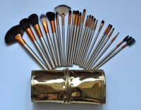 HOT Makeup Brushes 24 piece Professional Brush sets Nude 3 +...