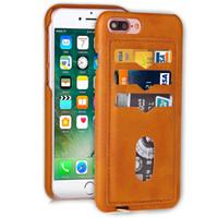 Чехол для iphone 6 7 Plus Мобильный сотовый телефон случаях охватывает Slim Ретро люкс смартфон случае DHL