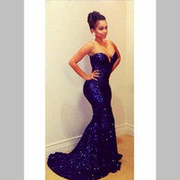 Mermaid Evening Dresses US 2 4 6 8 10 12 14 16+ + Newest Cust...