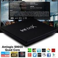 Smart TV Quad Core S905X Android Box Q8 Intbox Kodi 17. 0 ful...