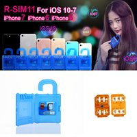Самый новый RSIM11 R SIM 11 r-sim11 rsim 11 разблокировка для ios7-10.x iPhone 7 6plus 6 5 CDMA GSM WCDMA SB AU SPRINT 3G 4G iOS 7 8 9 10