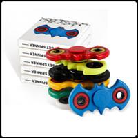 Big Sell ABS Murciélago Fidget Spinner HandSpinner Mano Spinner dedo EDC Juguete portátil descompresión Ansiedad más barato fidget spinner Juguetes
