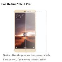 Pour Xiaomi Redmi Note 3 Pro Protège-verre trempé Film protecteur d'écran 2.5D Transparent Xiomi Redmi Note 3 Xiami Redmi Note 3