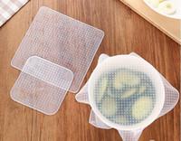 New 4pcs Multifunctional Food Fresh Keeping Saran Wrap Kitch...
