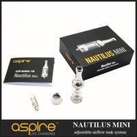 Nautilus mini Atomizer BVC Adjustable Airflow system Glass T...