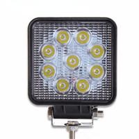 1pcs SUV Epistar 27W LED Work Light Spot Flood Combo Beam Tr...