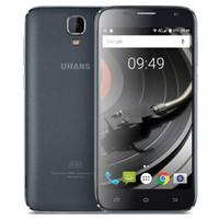 Дешевые 4G LTE UHANS A101 64-Bit Quad Core MTK6737 1GB 8GB Android 6.0 Зефир 5,0-дюймовый IPS 1280 * 720 HD 8.0MP камера GPS WiFi смартфон