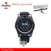 2017 KD-01 Smartwatch Wristband pour Android iPhone iwatch Smart SIM Intelligent téléphone mobile Watch android smart watch
