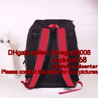 black Techno canvas techpack with tiger embroidery 429037 de...