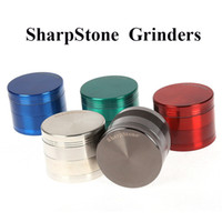 Original SharpStone Grinders 75mm Sharp piedra Herb Tobacco Grinder trituradora de especias Cigarrillo 40mm 50mm 55mm 63mm 75mm Big Grinder