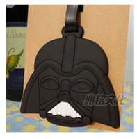 Cartoon Luggage Tags Star Wars Checked Travel Silicone Yoda ...