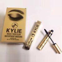 El más nuevo Kylie Jenner Mascara Magic espesa el rímel impermeable delgado El rimel largo del ojo largo pestaña duradera bate el paquete del oro del cumpleaños