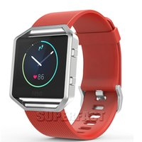For Fitbit Blaze Replacement Watch Band Silicone Smart Watch...