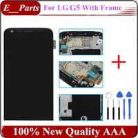 1Pcs pour LG G5 H830 H840 H850 H868 LS992 LCD + numériseur d'écran tactile avec le remplacement de cadre 100% qualité originale AAA Livraison gratuite