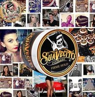 Suavecito Pomade Strong style restoring Hair wax big skeleto...