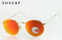 Polarized Round Sunglasses Soscar Brand Designer Sunglasses ...