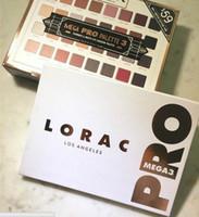 2017 La plus nouvelle palette de fard à paupières Lorac Mega Pro 3 Cosmétique édition limitée 32Colors palettes Shimmer Matte Brands Eye Shadow Palette Maquillage