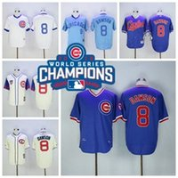 2016 World Series Champions Patch Chicago Cubs 8 Andre Dawso...
