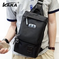 Fashion Leisure Waist Bag For Men High Quality Polyester Bla...