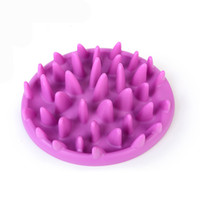 Excellent Soft Silicone Jungle Dish Pet Slow Eat Feeder Dog ...