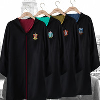 Harry potter gryffindor cosplay cape adult children cape clo...