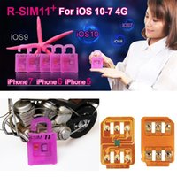 RSIM11 + RSIM11plus rsim11 + rsimunlock для iPhone 5 6 7 плюс ios7-10.x SPRINT4G для T-Mobile Sprint Fido DoCoMo не для CDMA
