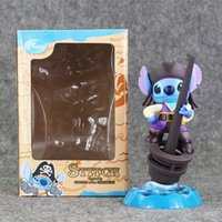 15cm Lilo & Stitch Cartoon characters toys doll Caribbean Pi...