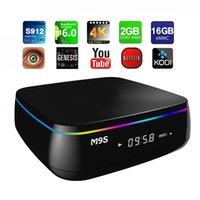 Smart Tv Box Amlogic M9S Mix 2G 16G S912 Octa Core Android 6...
