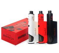 Kanger Dripbox 60W Kits de démarrage avec 7ml Subdrip Tank Max 60w Sortie Dripmod Dripbox Kits Airflow Kangertech E Cigs BOX MOD