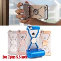 Étui de téléphone Pixco pour I7 plus à main Stable Shutter Grip télécommande Selfie Stick Bluetooth 4.0 Camera