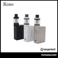 Authentique Kanger Kone Starter Kit avec une capacité de 3.5ml Pangu Tank Built-In 3000mAh Batterie Kone Mod 100% Original