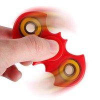 Bat HandSpinner Batman Fingertips Spirale Gyroscope Finger Fidget Spinner EDC Spinner à la main Plastic Two Side Release Stess