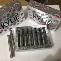 Kylie Lip Kit jenner par kylie mat lèvres lipgloss maquillage Velvetine Liquid Lipstick cosmétiques set 12 couleurs lèvres lustre expédition gratuite dhl