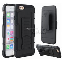 For Galaxy S7 iPhone 7 Hybrid Robot Case Armor Impact Case F...