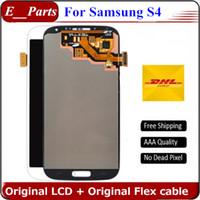Pour Samsung Galaxy S4 lcd i9500 Original écran LCD digitizer écran tactile i9505 i9506 i337 545 sans cadre