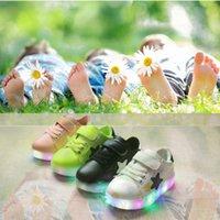 Kids LED Shoes Lighting Sport Running Shoe Casual Star Sneak...