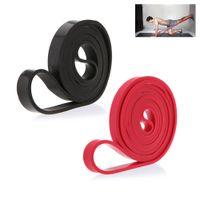 208см Натуральный латекс Pull Up Полосы Physio сопротивления Упражнение Crossfit Loop Bodybulding Йога тренировки Trainning Фитнес-оборудование