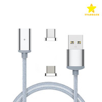 Magnetic USB Cable Micro USB Quick Charge LED Lighting 1M 3F...